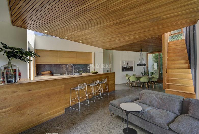 Balmain House悉尼住宅:为一个年轻家庭而设计简单实用光线充足