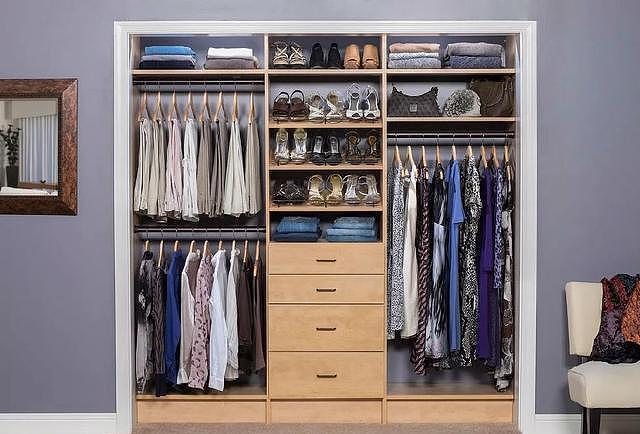 衣柜尺寸标准大全集2018版 点点收藏一下吧