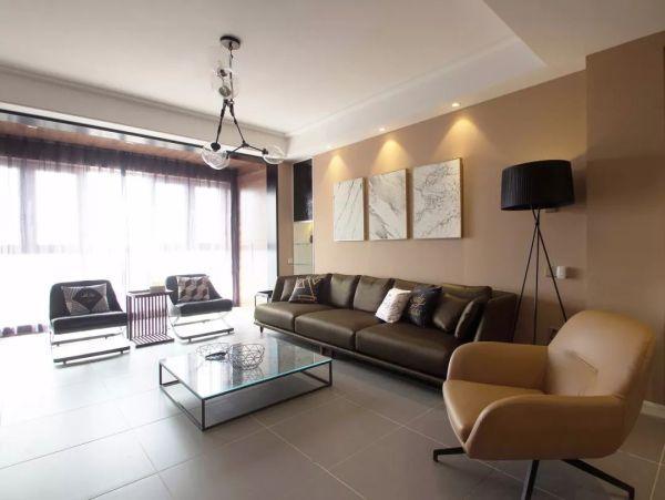 现代简约风三居室装修设计 简简单单才是最好