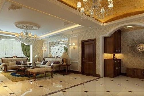 新房欧式风格装修设计 营造出奢华贵气家装