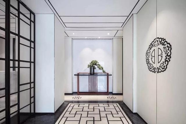 20款新中式玄关装修效果图 一定会美到你!