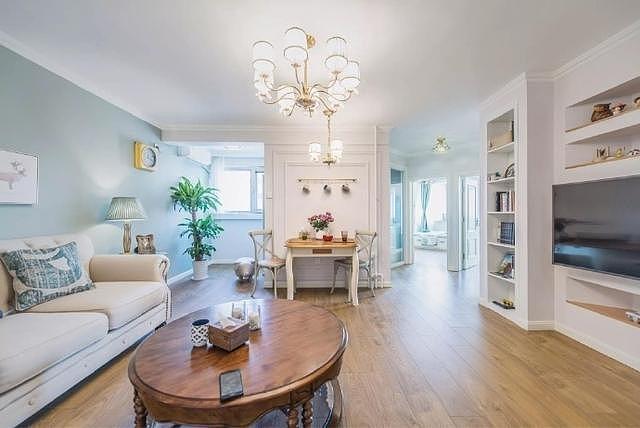 89平米温馨美式风装修 打造能提高生活幸福感的家