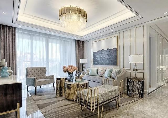 新房美式轻奢风装修设计 从没见过这好看美式风装修