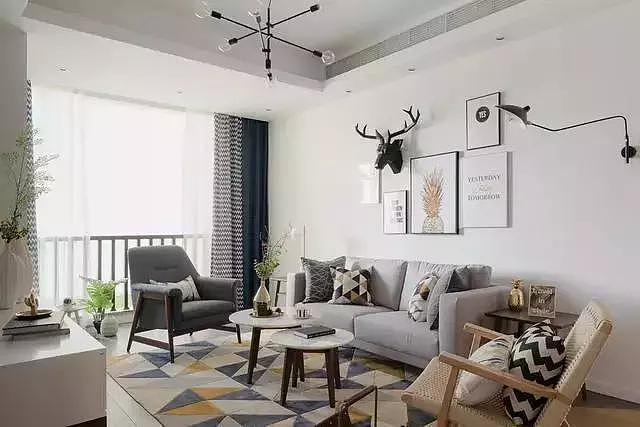 新房两居室北欧风装修 打造舒适惬意家居生活