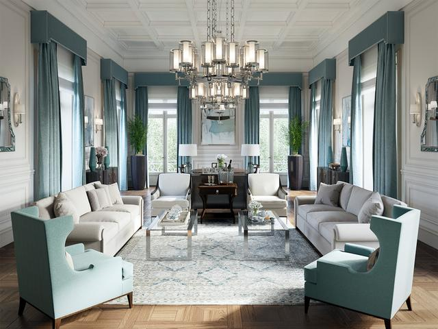 160平别墅装修 美式风格铸就生活品质