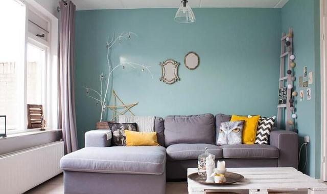 墙面漆什么颜色好看 这么刷房屋瞬间提升几个档次