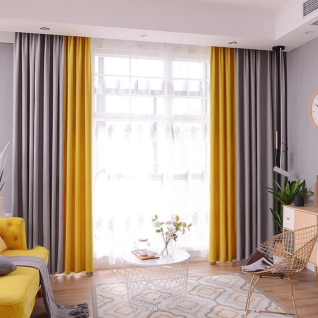 新房装修客厅窗帘怎么选 来看看这些案例也许你对有帮助
