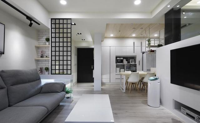 3室1厅80平北欧风新房装修 小户型这样装修才精致