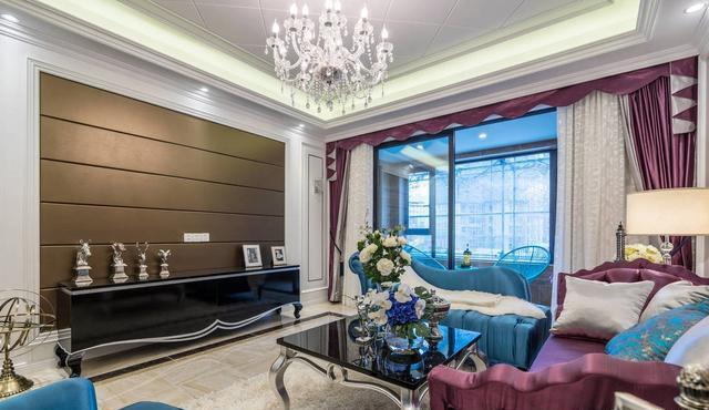 128㎡简欧风新房装修 打造出的空间高端大气的家