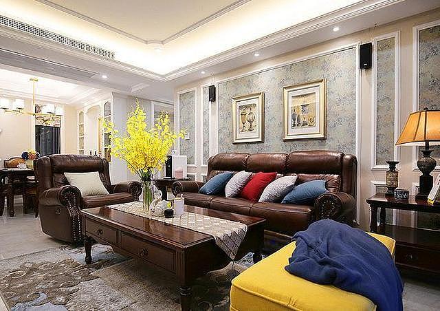 朋友家的简美风小家装修 打造古典精致的家居生活