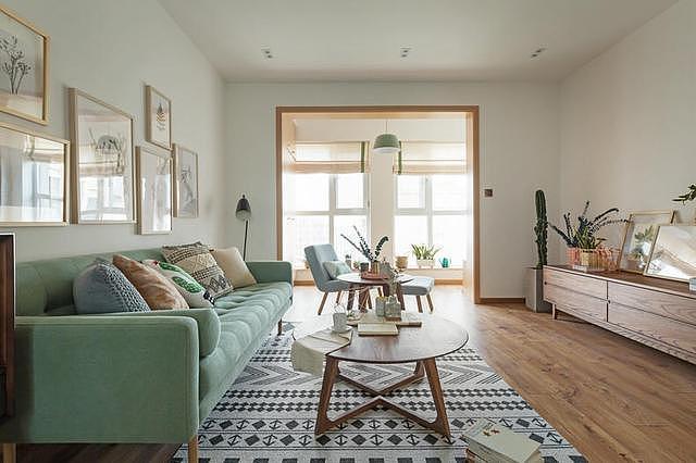 小户型新房北欧风装修设计 打造清新时尚的家居生活