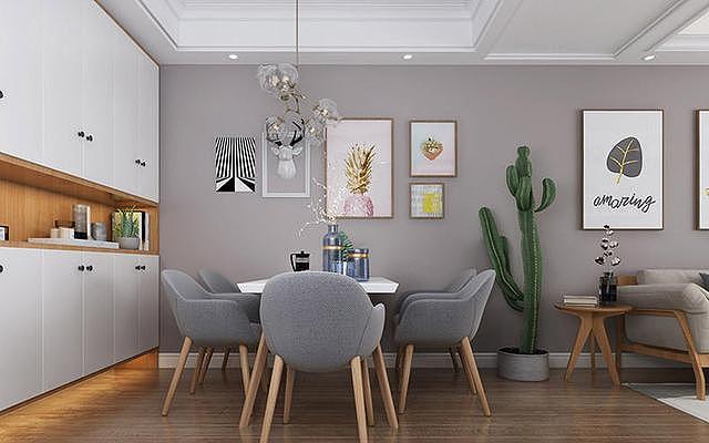 5款不同风格的餐客厅一体化设计 来看看哪一款适合你家的