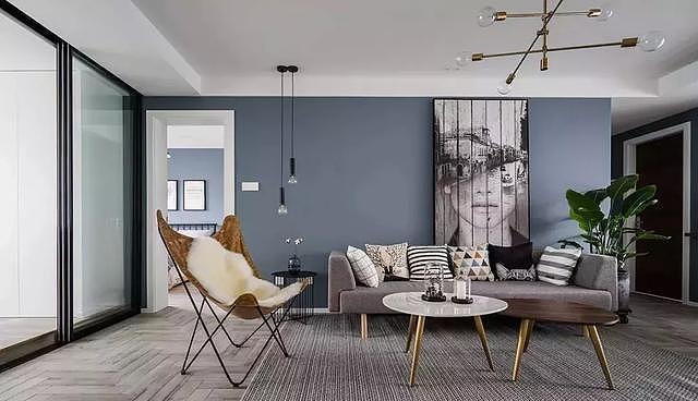 86㎡二居室北欧风装修 打造优雅而又精致的家