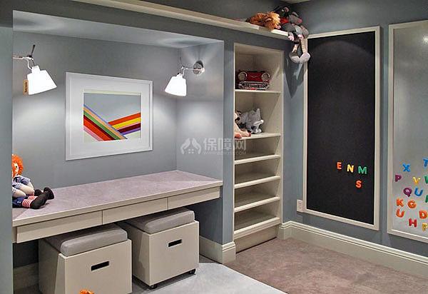儿童书房适合什么颜色