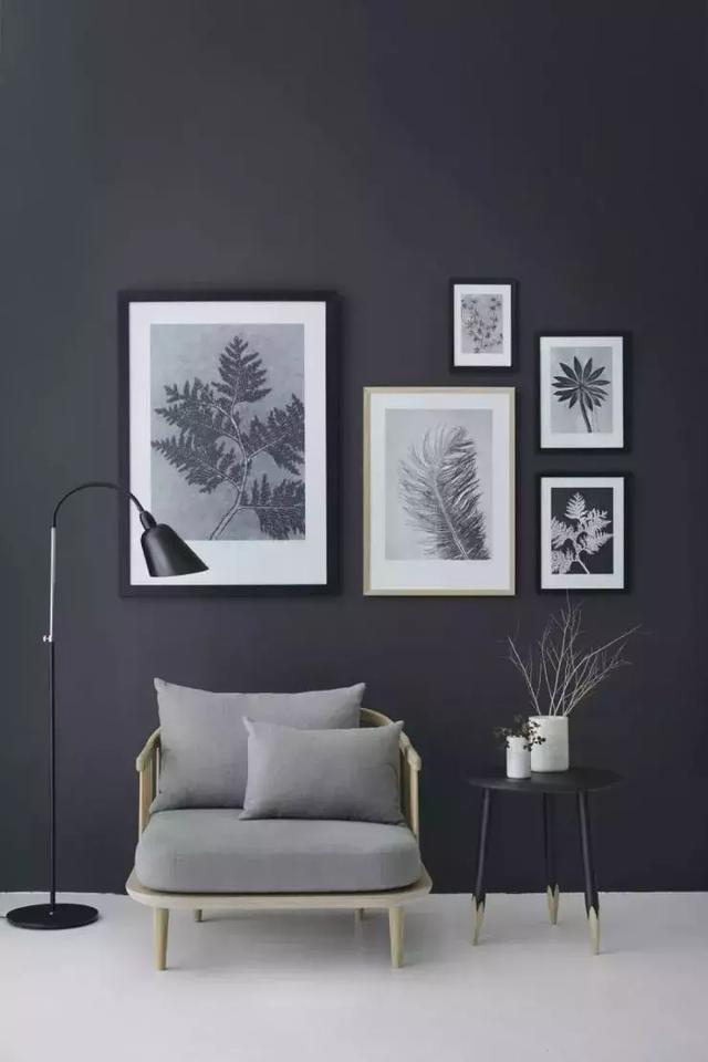 屋內墻漆顏色偏暗
