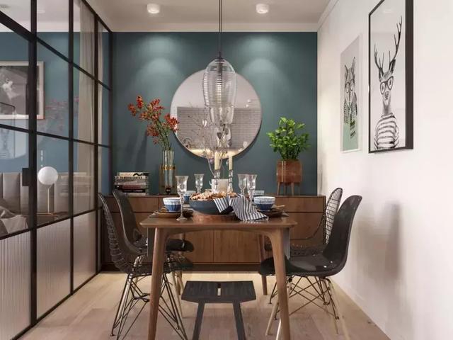 """20款高颜值百搭餐厅设计图 给你一个更""""下饭""""的用餐空间"""