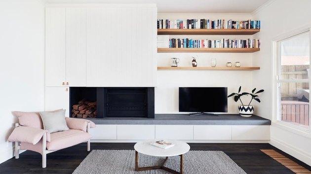 15个极简主义客厅设计的点子 会让你想扔掉所有的东西