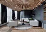 用自然材料打造出高端奢华的办公空间
