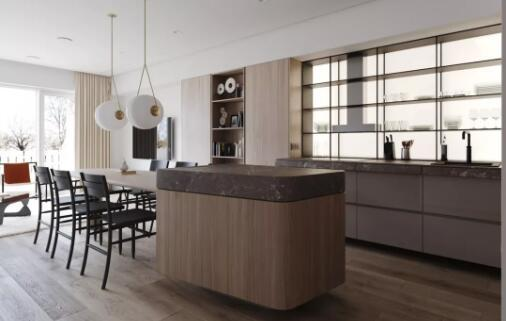 厨房的隔板怎么设计才最实用?除了分区分层,还要分角度
