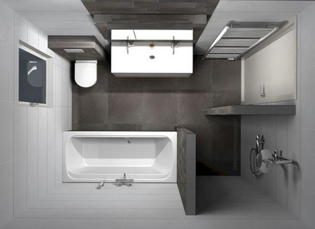 如何把控狭小的卫生间布局 这14张样样俱全的设计图送你