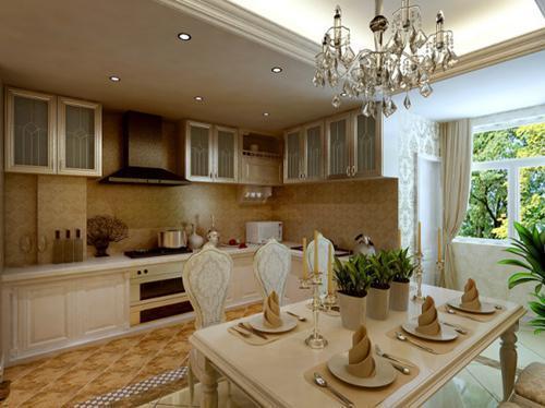 开放式厨房的忌讳,这样的餐厨一体化设计,打造好风水