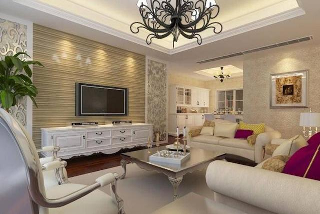 客廳歐式裝修效果圖 時尚3步鑄造歐式貴族范兒空間