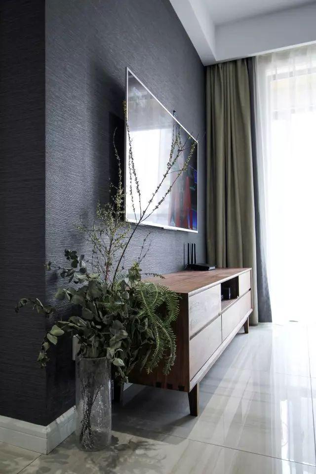 80平北歐風做成三室兩廳 黑白灰配色超經典