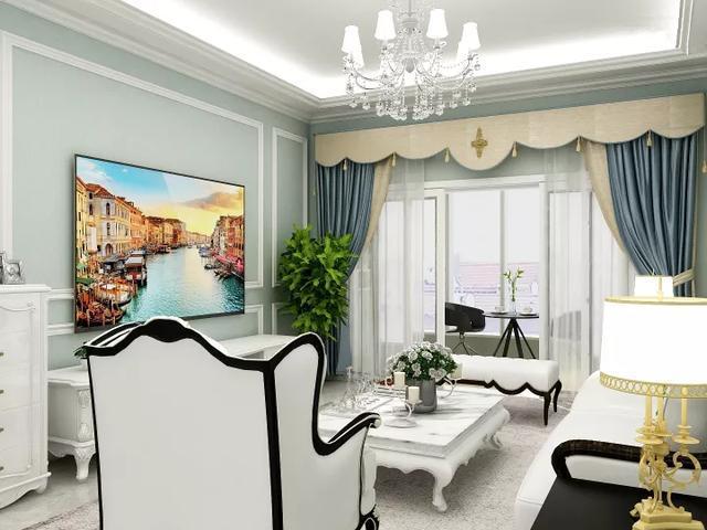 90平米欧式风格装修 生活处处是温馨值得借鉴