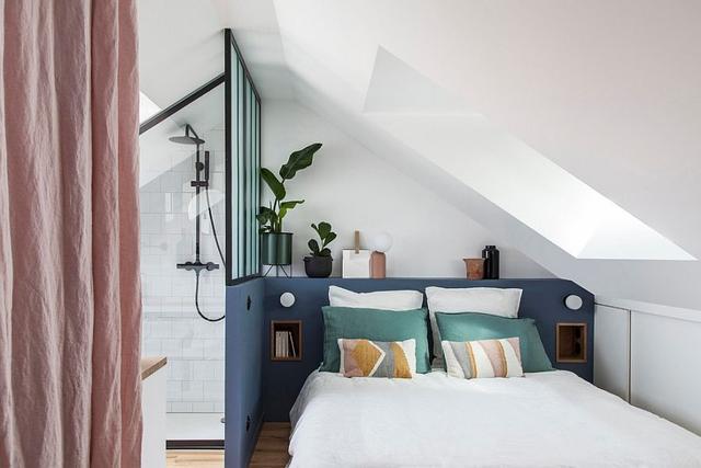 现代小卧室创意 20种节省空间的时尚卧室设计