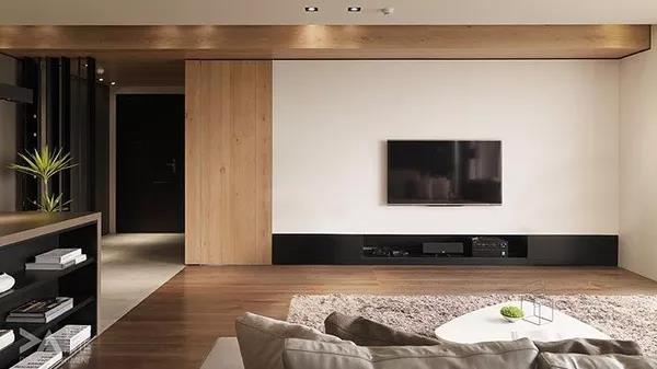 客厅电视背景墙装修一定要好看!6种设计方案