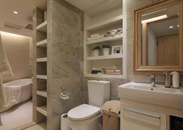 头一次见卫生间墙这样设计,增加收纳又省地方,太机智了