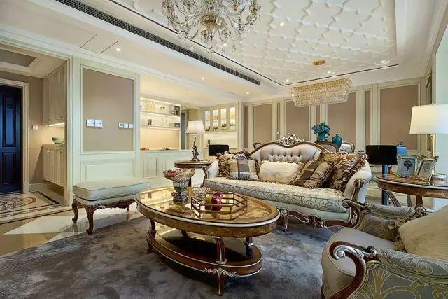 欧式古典风格家装 大气奢华谁会拒绝这样的房子呢?