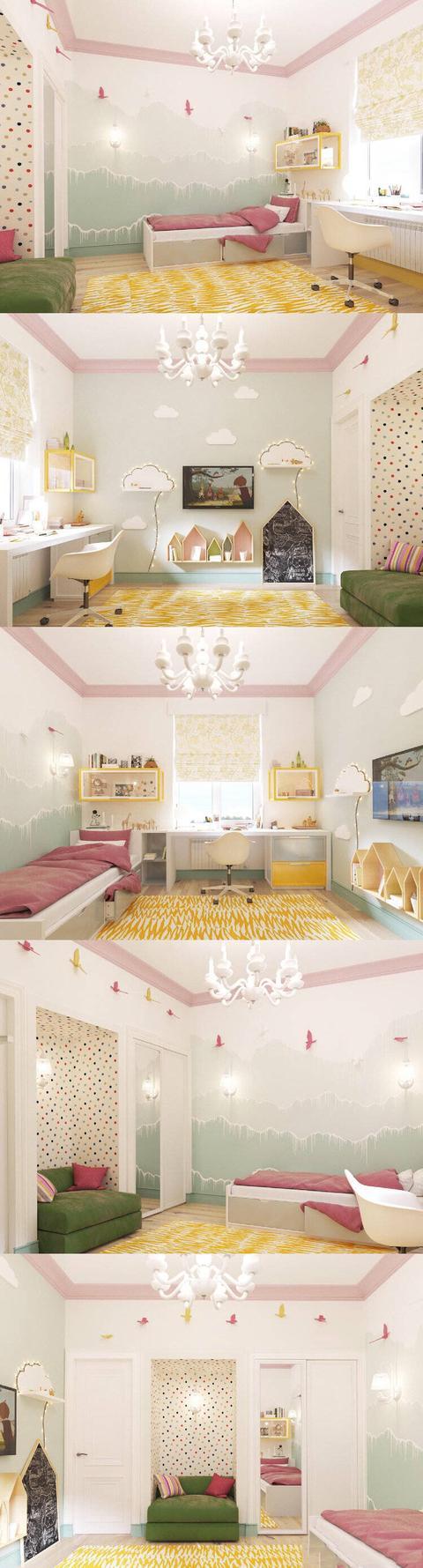 10套让人心动的儿童房设计方案 不懂装的赶紧收藏!
