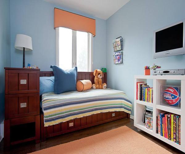 儿童房墙面用什么材料装修甲醛比较少
