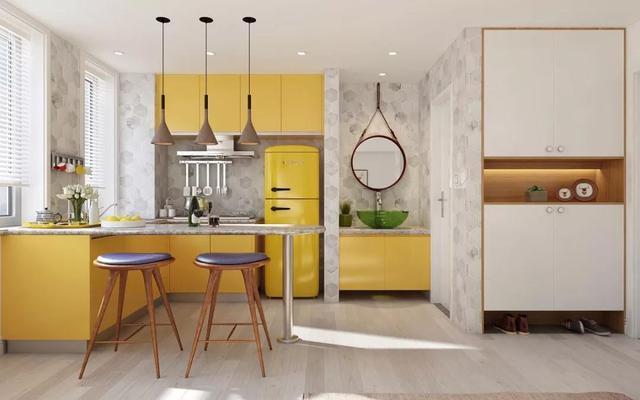 5种实用好看的橱柜设计 让你一秒钟爱上做饭!