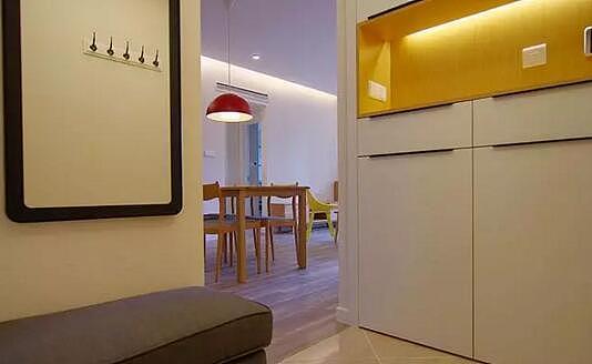 70平小家装修日记 父母头次见嵌入式冰箱非常满意