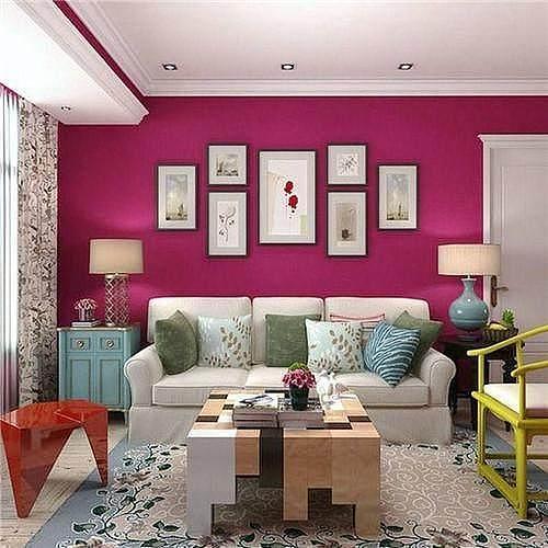 客厅装修色彩怎么搭配?分享8套客厅配色方案