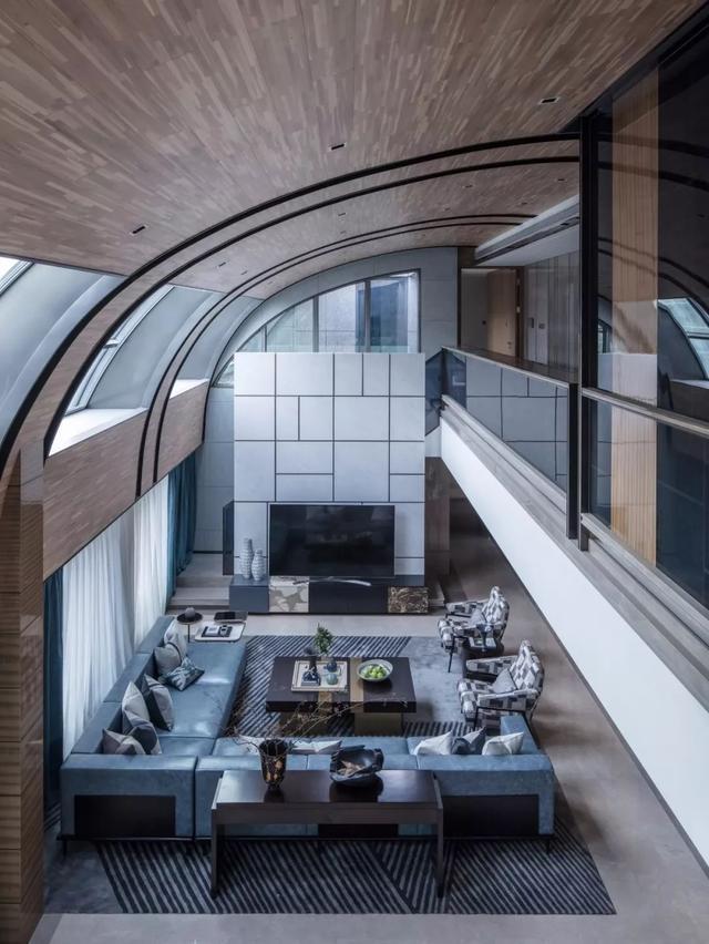 500平米顶层复式别墅设计 比独栋别墅惊艳