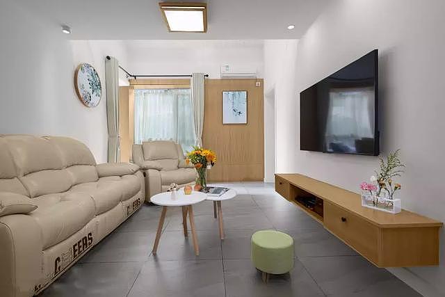 小户型客厅简约风装修设计案例 来看看有没有你喜欢的