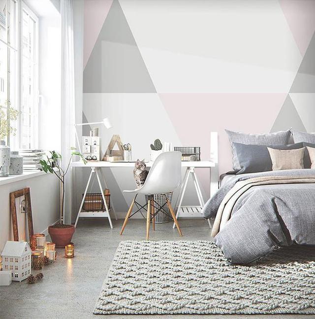 4款床头背景墙装饰 让你彻底告别大白墙
