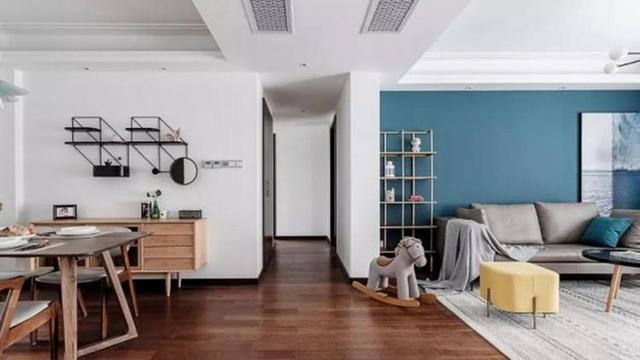 110㎡現代混搭風格裝修 打造古典優雅的家裝