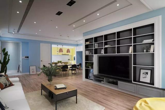 148㎡三居室房屋装修设计 打造优雅舒适的现代简约风家装