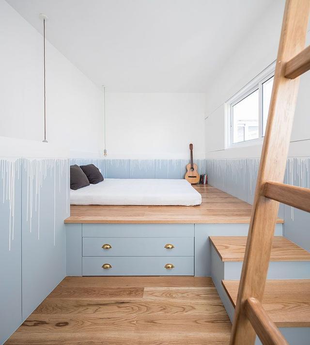 卧室太小怎么利用空间 来看看歪果仁的创意