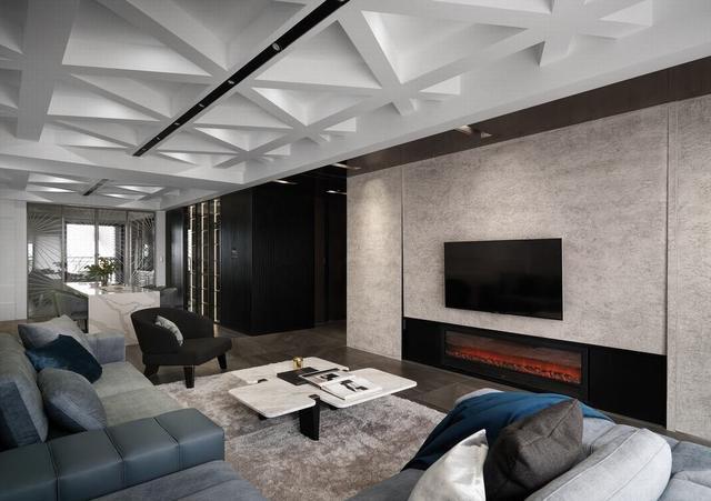 300平现代风格房屋装修 营造出低调的优雅时尚