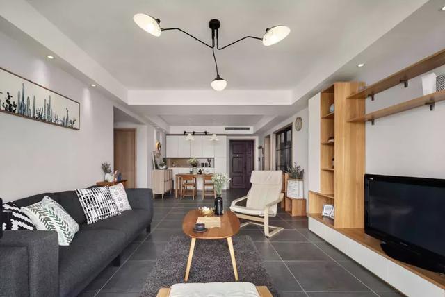 原木简约风房屋装修设计 搭配出清新文艺的居住空间