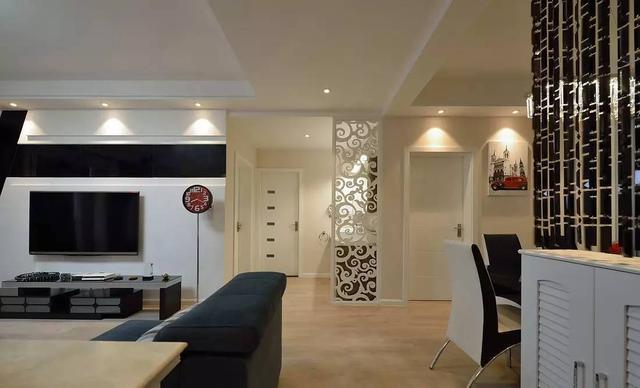 93㎡现代小两居装修日记 半包7w装修温馨新房!