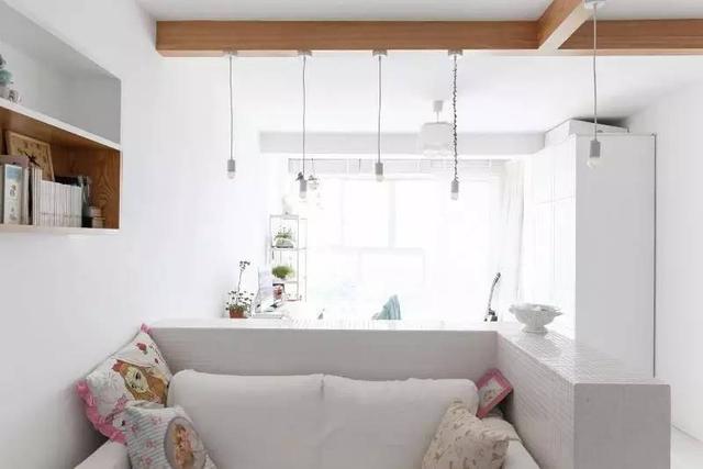 7萬裝60平米北歐小戶型 廚房收納很強大!
