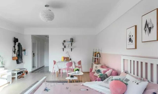 小户型公寓装修设计 打造简约清新浪漫的家居