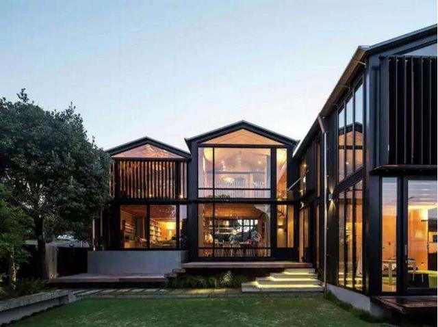 农村建200平别墅造价花15万 还带花园设计感爆棚贼有面儿