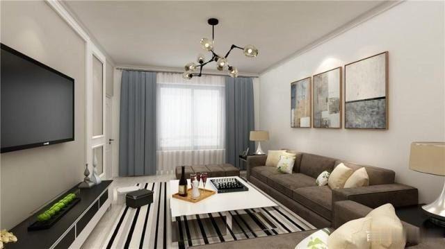130平新房現代簡約風裝修 營造十分有時尚感覺的家裝